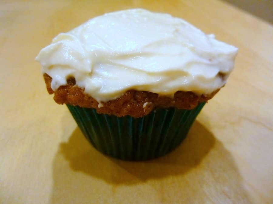 These banana muffins with cream cheese frosting are special not only because they have frosting, but because said frosting has a hit of mascarpone, too.