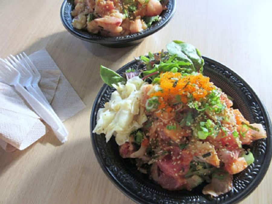 Poke from Pokinometry in Anaheim, CA