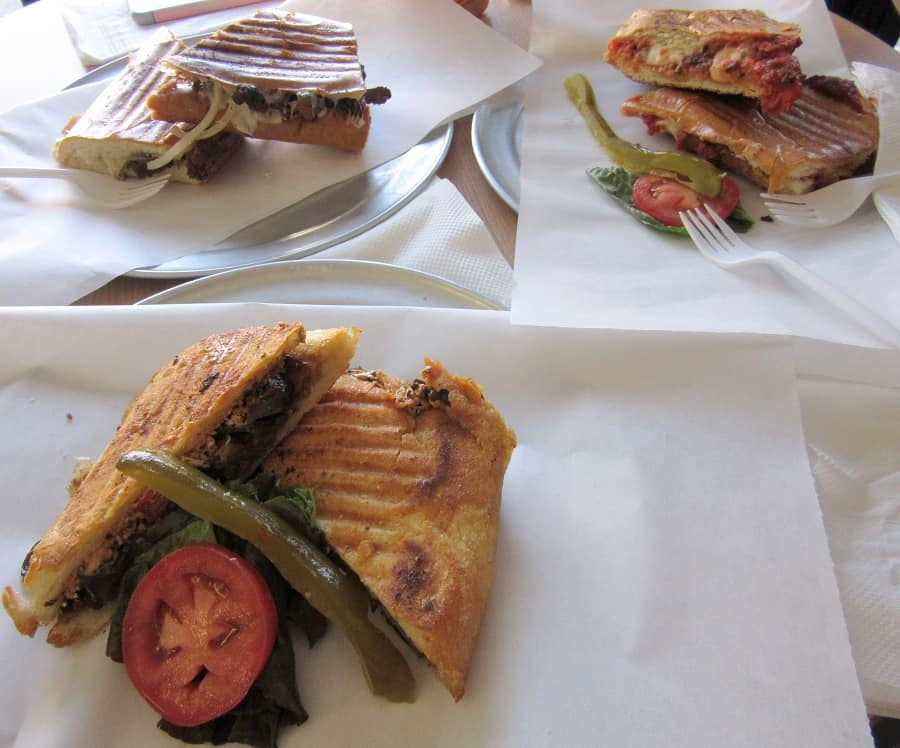 Panini from Hot Press in San Francisco | Delicious Not Gorgeous
