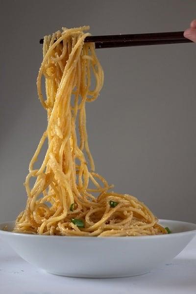 Vietnamese Garlic Butter Noodles Delicious Not Gorgeous