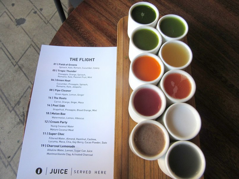 Verve Juice Flight, Los Angeles | Delicious Not Gorgeous, Labor Day Weekend in SoCal