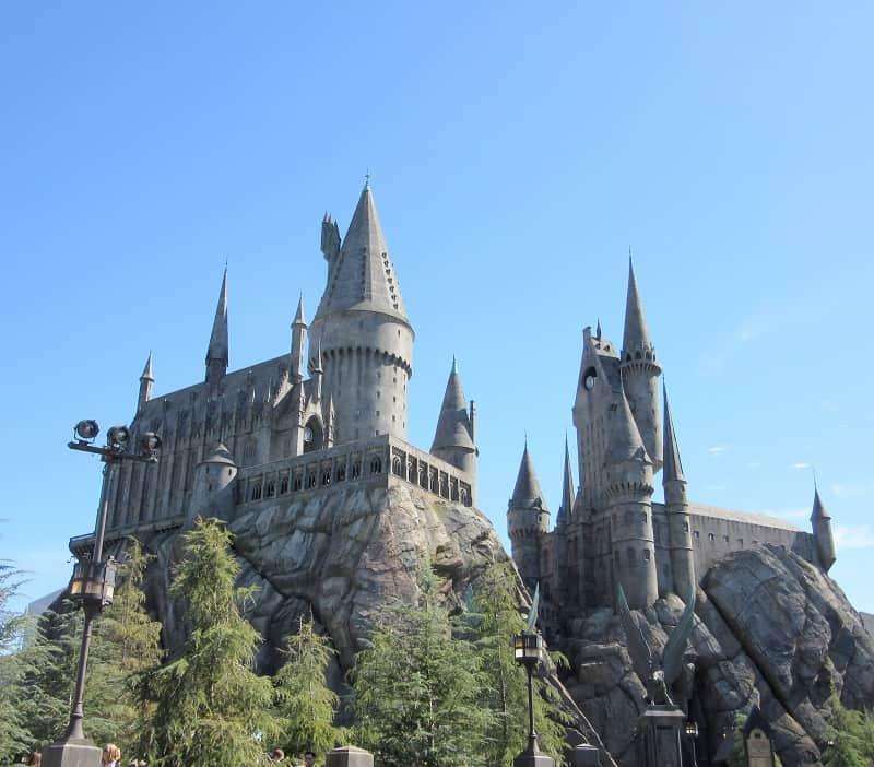 Hogwarts, Universal Studios Hollywood | SoCal Februrary 2017: Theme Parks and Swirled Ice Cream, Delicious Not Gorgeous
