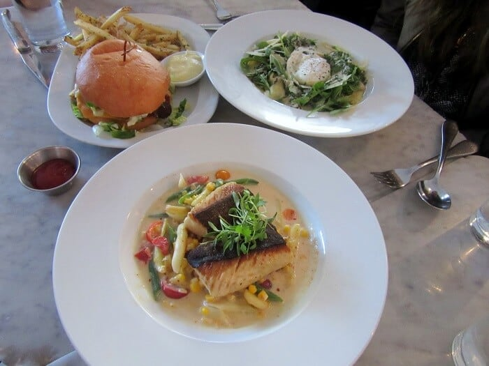 Birthday dinner at Marlowe in San Francisco complete with Thai curry, risotto and a burger. #marlowe #sanfrancisco #burger #risotto #curry