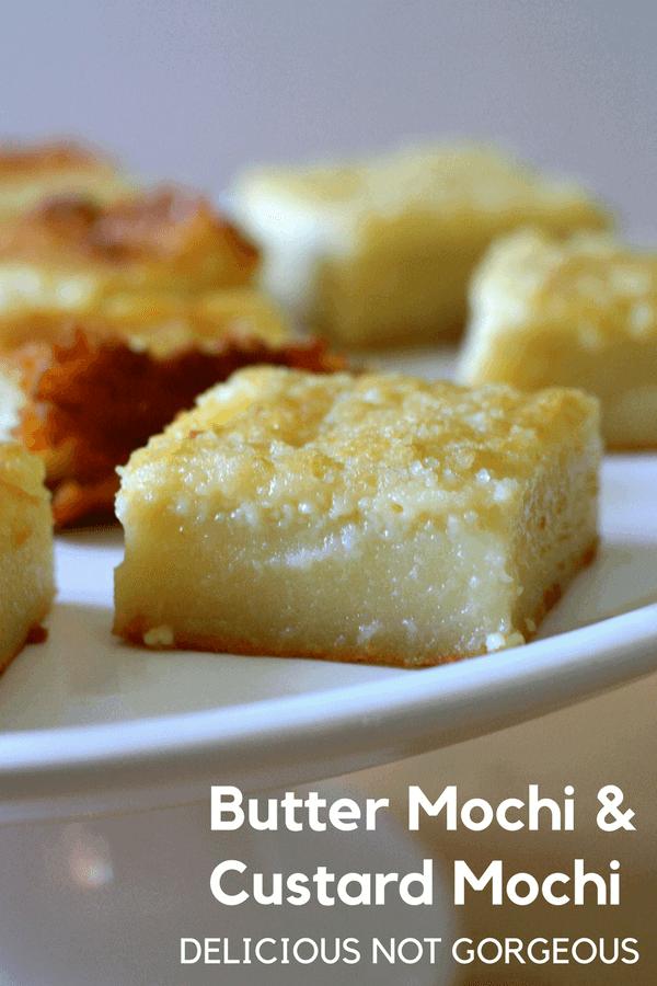 Butter Mochi Custard Mochi Delicious Not Gorgeous