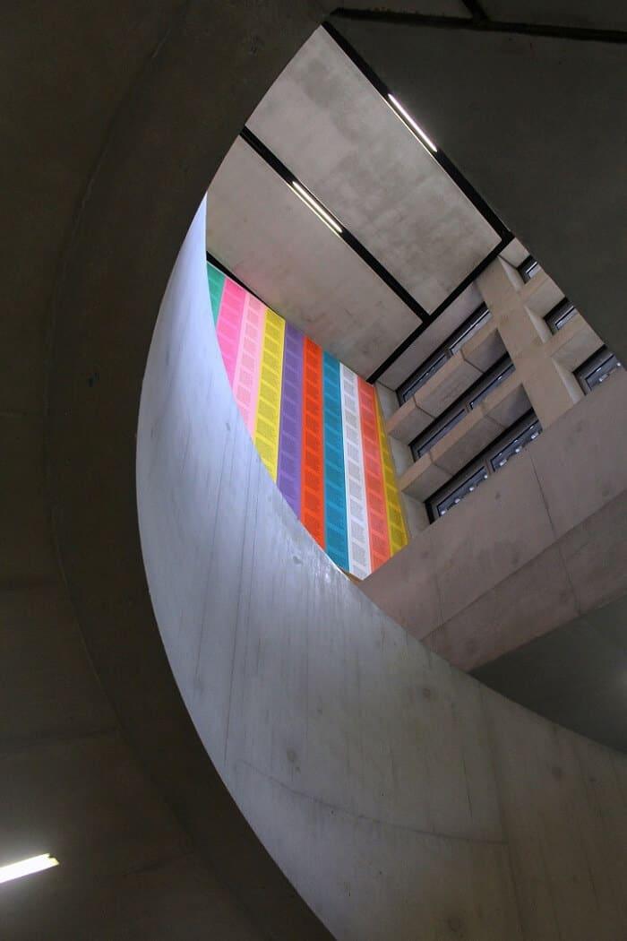 Stairway in Tate Modern in London. #london #tatemodern #museums