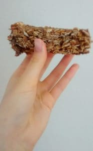 Laura Vitale's granola bars clump together like a champ - no messy, crumbling granola bar over here. #granola #granolabars #breakfast #snack