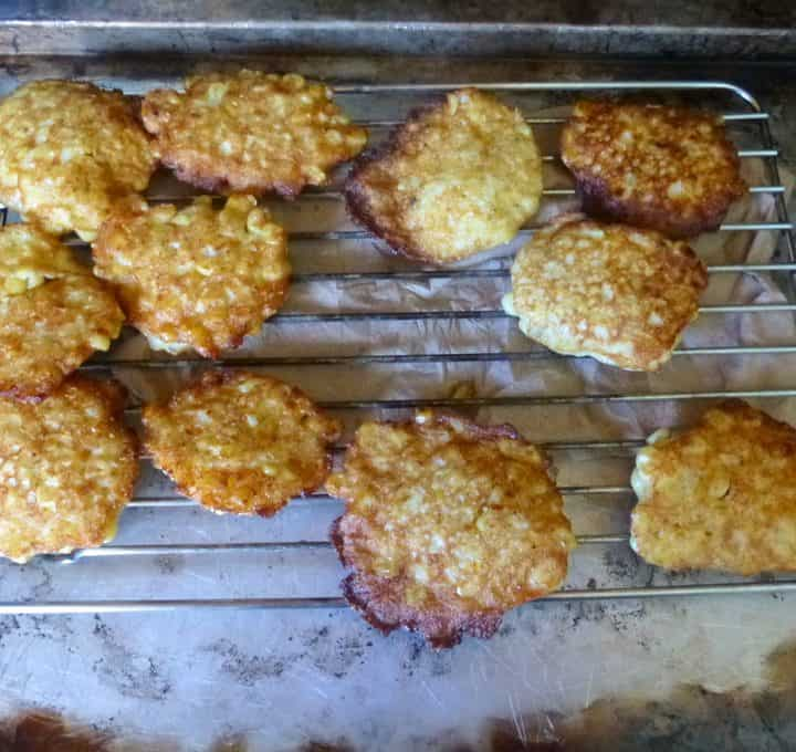 Easy corn fritters with summery, crunchy, sweet corn.