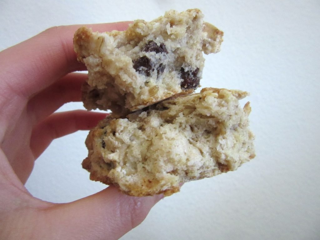 Buttermilk Oatmeal Raisin Scones: stacked