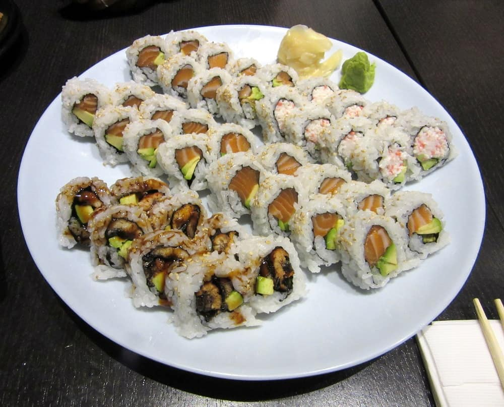 Sushi Stop. Week 10 Adventures   Delicious Not Gorgeous