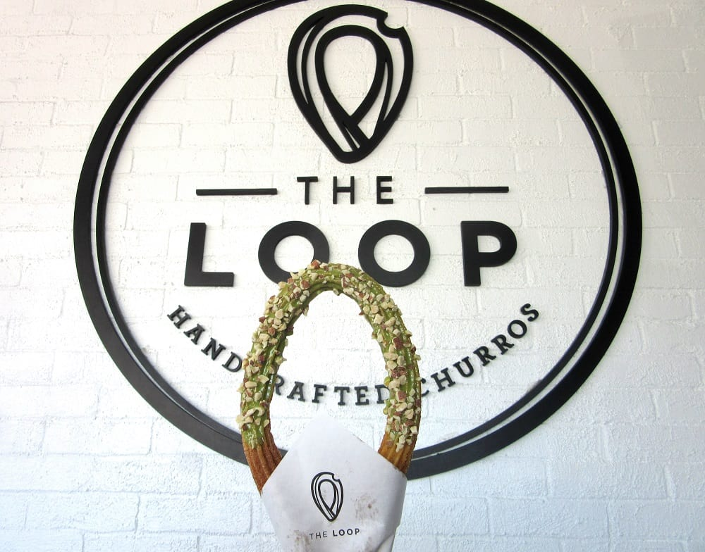 Matcha Churro with Almonds at The Loop, Week 10 Adventures | Delicious Not Gorgeous