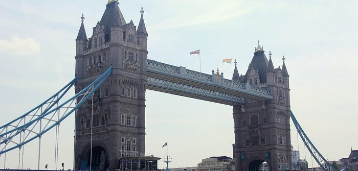 The Tower Bridge in London #london #towerbridge #architecture
