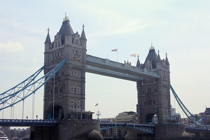 The Tower Bridge in London #london #towerbridge #architecture