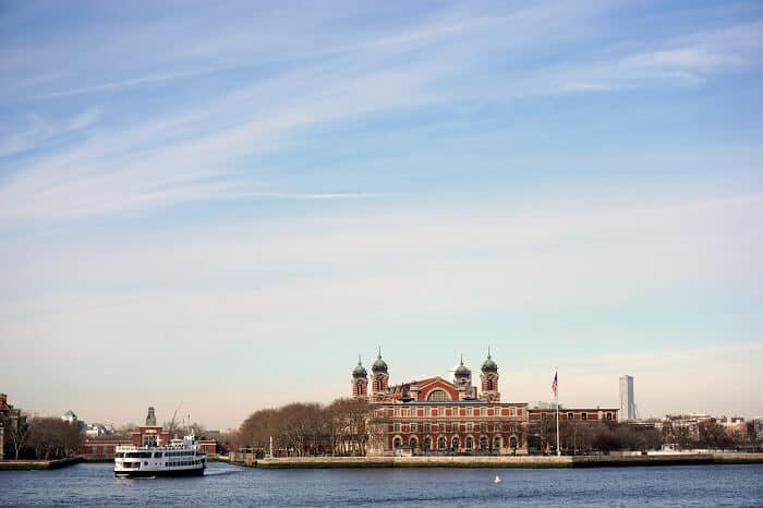 Ellis Island is full of information and things to see, making it a great spot to hide away from the cold if you're in NYC in January. #ellisisland #newyorkcity #nyc #newyork